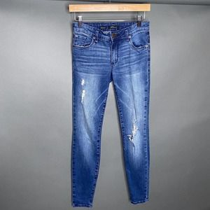 STS Blue Piper Skinny Jeans Distressed 24